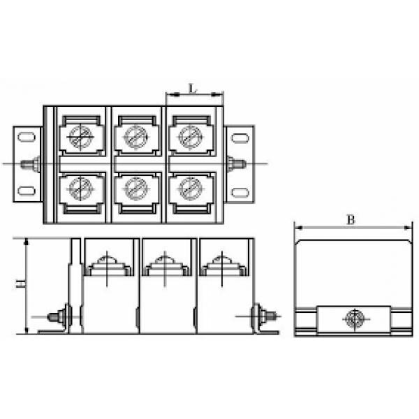 Колодка клемvная БЗН 10-200 А