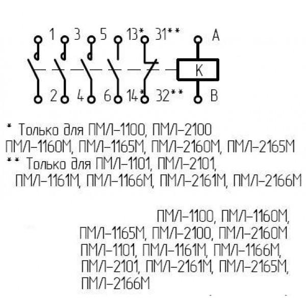 Пускатель ПМЛ 2110