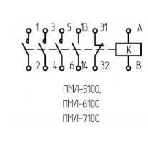 Пускатель ПМЛ 7100