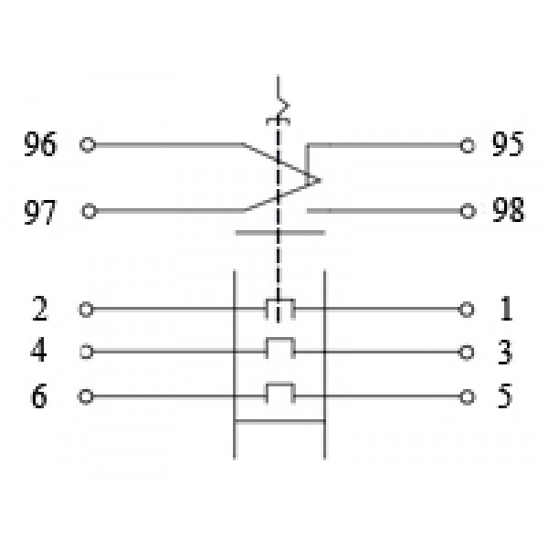 Реле тепловое РТЛ-1006 (0,95-1,6 )А
