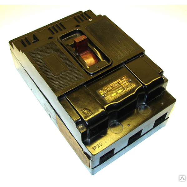 Автоматический выключатель А 3124 (80-100 А)
