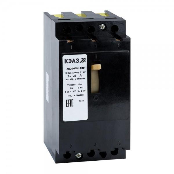 Автоматический выключатель АЕ 2046М 1,6-63 А
