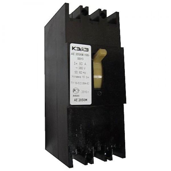 Автоматический выключатель АЕ 2056М 80-100 А