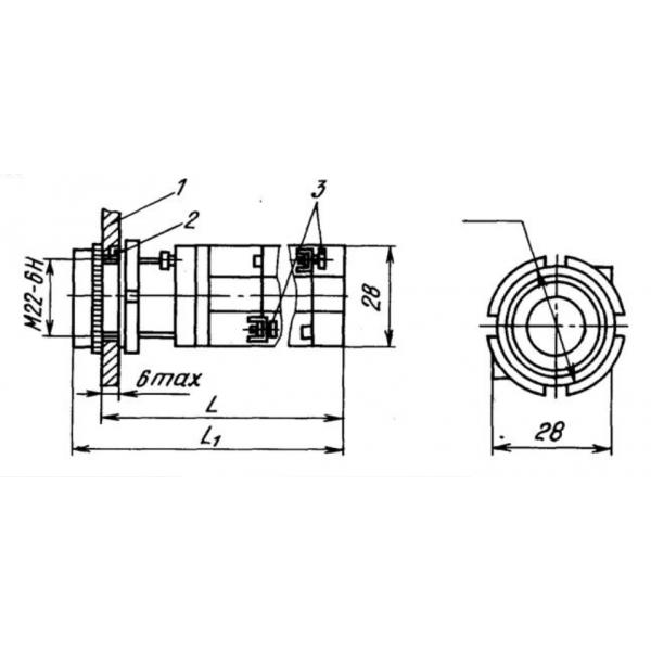Кнопка КМЕ-4211