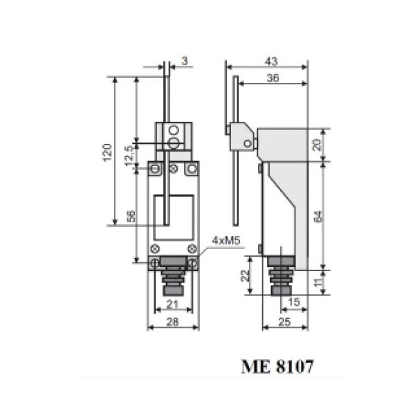 Вимикач кінцевий МЕ-8107