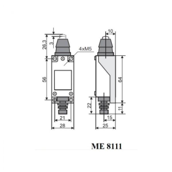 Выключатель концевой МЕ-8111