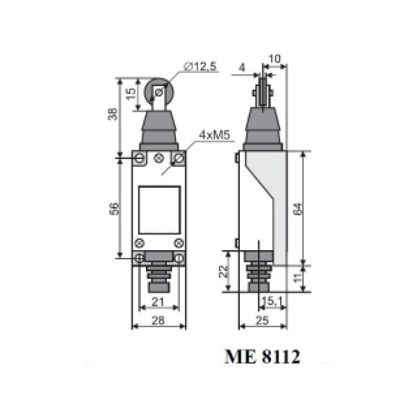 Вимикач кінцевий МЕ-8112