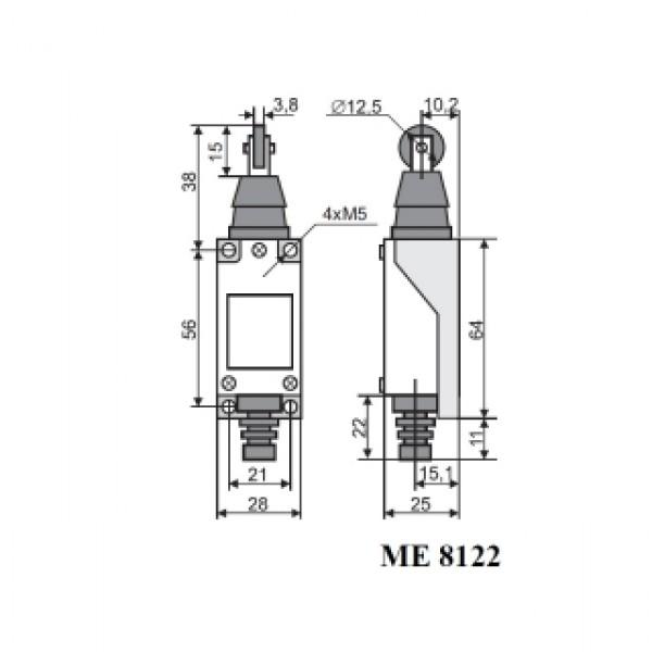 Вимикач кінцевий МЕ-8122