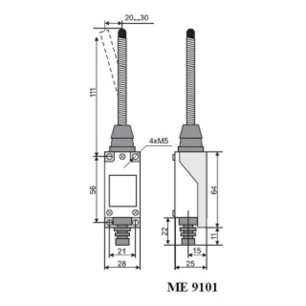 Выключатель концевой МЕ-9101