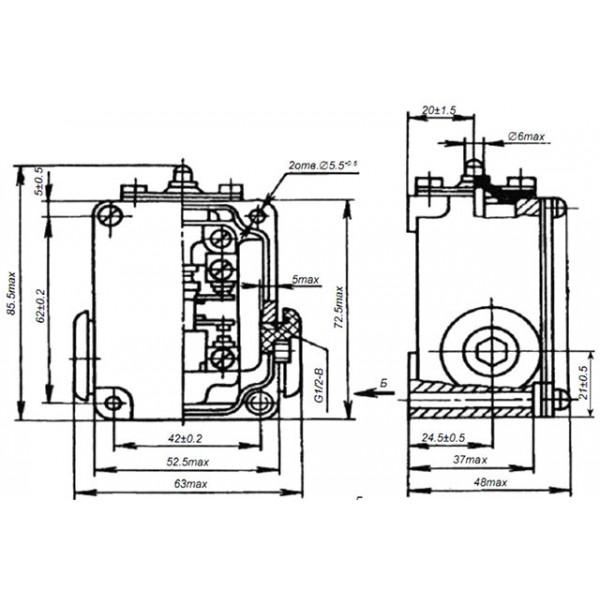 Выключатель концевой ВПК-2110