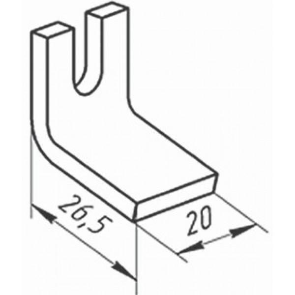 Контакт КТ (КТП) - 6020 (нерухомий)