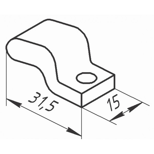 Контакт КТ (КТП) - 6020 (рухомий)