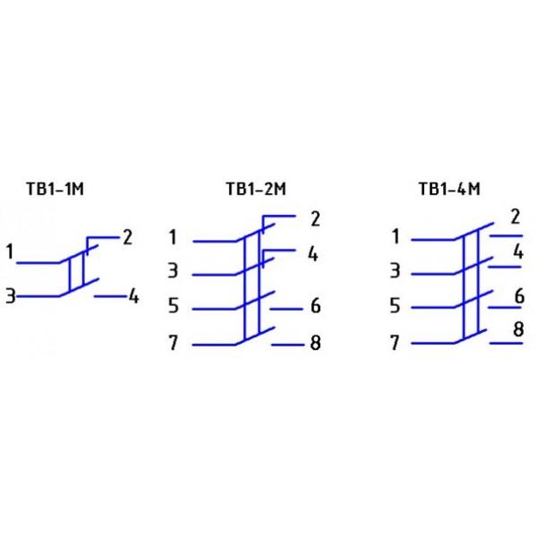 Тумблер ТВ 1-4